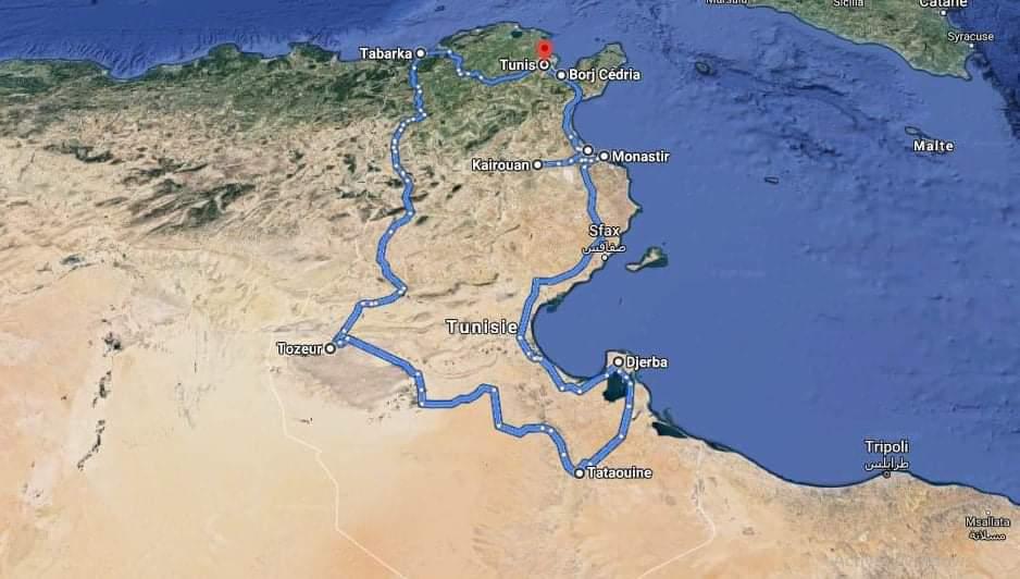 TUNISIA IN CAMPER